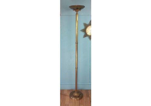 Mid Century Brass Uplighter