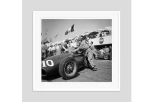 Thumb it s the pits 1953 oversize silver gelatin print framed in white 0