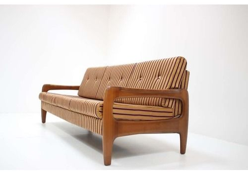 Mid Century 3 Seater Adjustable Sofa/ Walter Knoll, 1960´S.