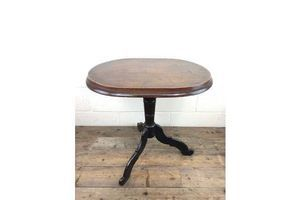 Thumb antique victorian mahogany oval top side table unknown 0