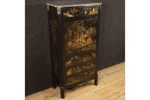 Thumb french lacquered chinoiserie secretaire 1920s 0