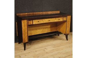 Thumb italian wooden writing desk in art deco style unknown italy 0