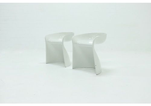 Set Of 2 Stools By Winfried Staeb For Reuter Product Design, 1970s