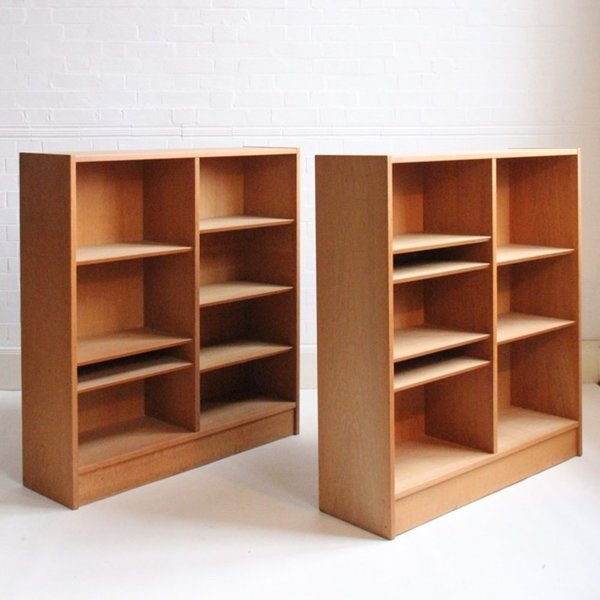 Pair Of Poul Hundevad Book Cases