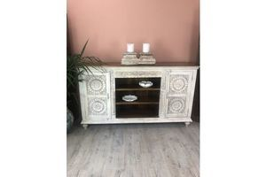 Thumb beautiful carved sideboard made from mango wood 71dc6259 87e7 44f7 80f6 4369f6427413 0