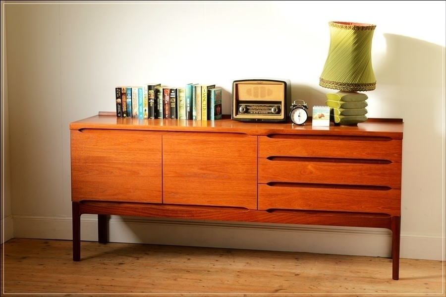 Mid Century Teak Meredew Furniture Sideboard Danish Design Its
