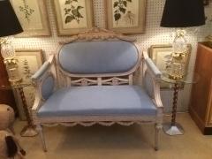 Decorative 1840 Swedish Sofa photo 1
