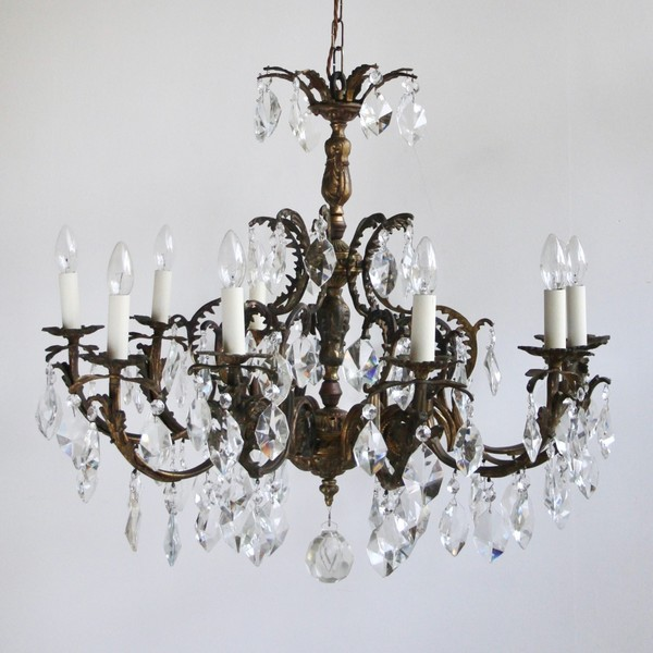 Large French Ornate Chandelier