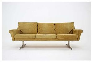 Thumb 1970s georg thams 3 seater sofa in suede leather denmark 1970s 0