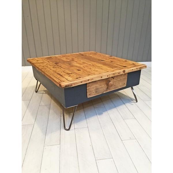 Pine Farmhouse Coffee Table