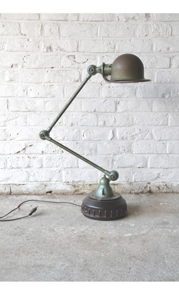 Vintage Industrial Jieldé Desk Light From Jean Louis Domecq