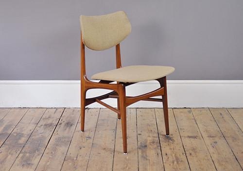 Set Of 4 Louis Van Teeffelen Dining Chairs