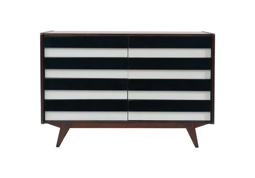 Mid Century Modernist Chest Of Drawers No. U 453, By Jiří Jiroutek, Czechoslovakia