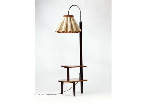 Art Deco Floor Lamp, Czechoslovakia, 1930s