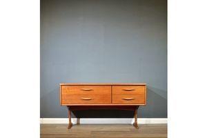 Thumb vintage midcentury teak sideboard dresser by frank guille for austinsuite modern danish style ef017dba 92a7 40ad b2d8 abb2234fd47b 0