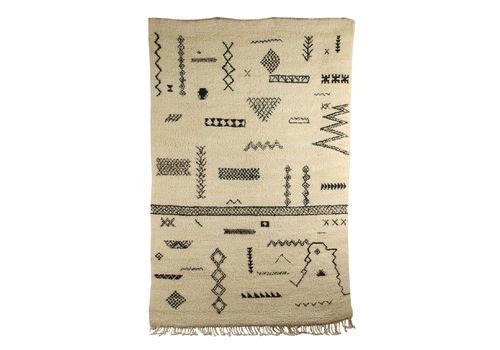 Vintage Carpet Wool Morocco 1970s