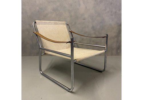 Midcentury Sling Armchair