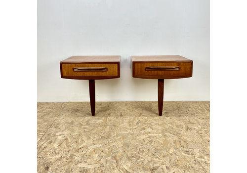 G Plan Vintage Mid Century Bedside Cabinets