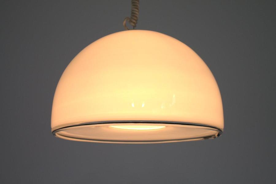 Murano Glass Pendant Lamp From Vetri, 1980s
