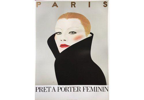 Pret A Porter Feminin   Original Vintage Poster