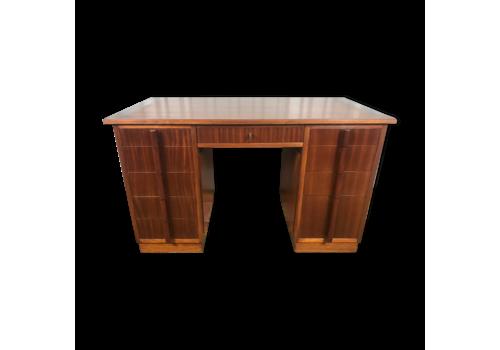 Restored Mahogany Art Deco Desk