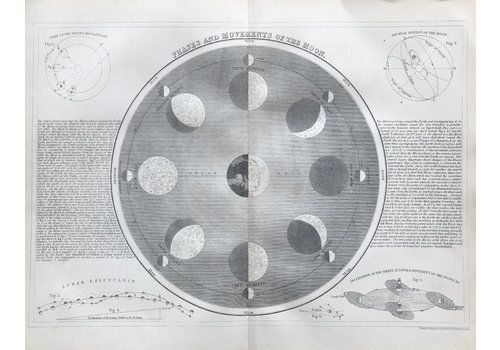 1860 Phases And Movements Of The Moon