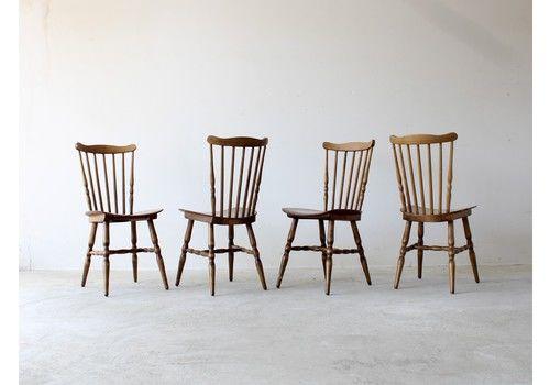 Baumann Menuet Dining Chairs X4