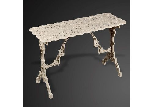 A Rare Coalbrookdale Cast Iron Table