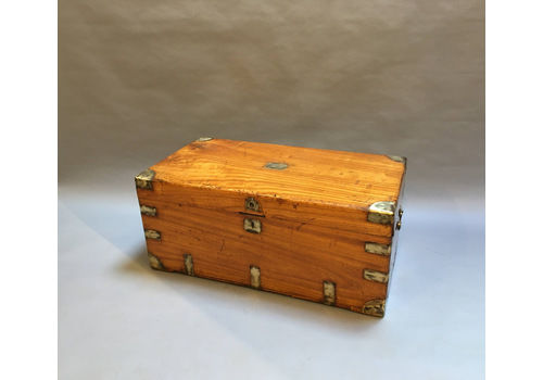 Camphor Campaign Trunk Chest