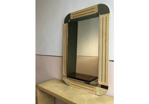 Italian Console And Mirror By Turri For Harrods