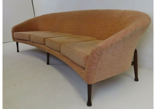 Stunning VI Ntage Guy Rogers Frisco Bay Sofa Settee