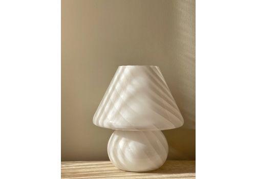 Large Murano Mushroom Table Lamp, 1970s