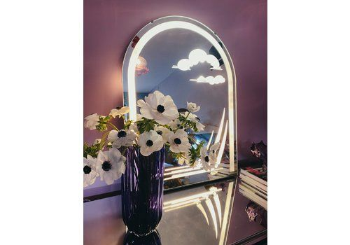 Midcentury Light Mirror ~ Sails And Clouds