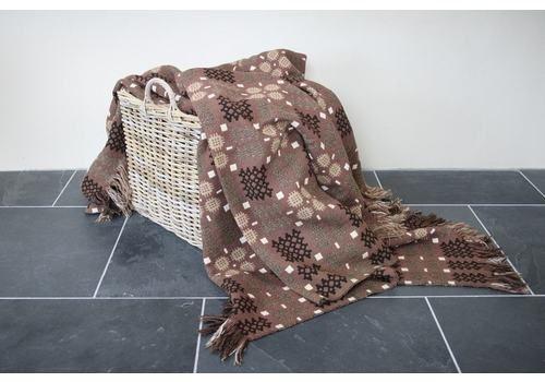 Chocolate & Caramel Caernarfon Blanket