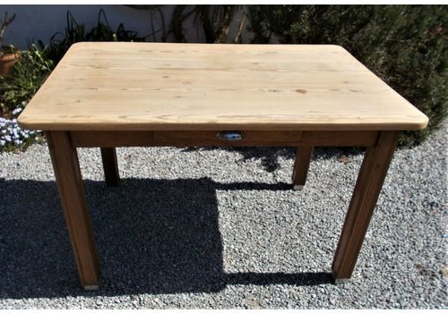 30s  French Solid Pine Table., 1930s