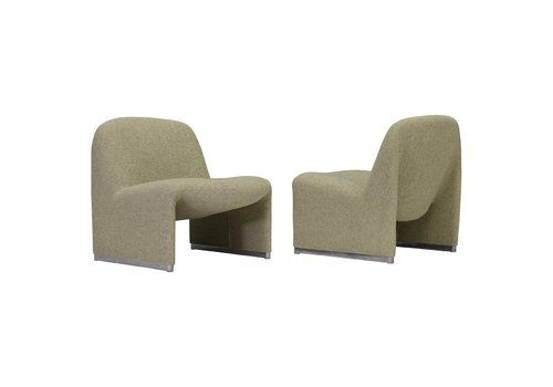 Alky Chairs By Giancarlo Piretti For Artifort And Castelli, Italy, 1970s