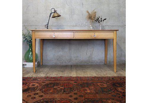 Mid Century Reclaimed School Table / Desk