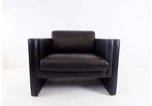 Walter Knoll Studio Line Leather Lounge Chair By Jürgen Lange