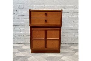 Thumb small side cabinet with drawers by nathan 0