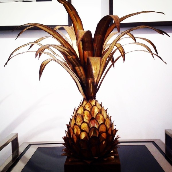 Maison Jansen Pineapple Lamp