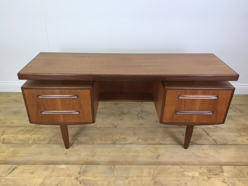 large cool vintage g plan desk retro fresco floating office dressing table puter 0
