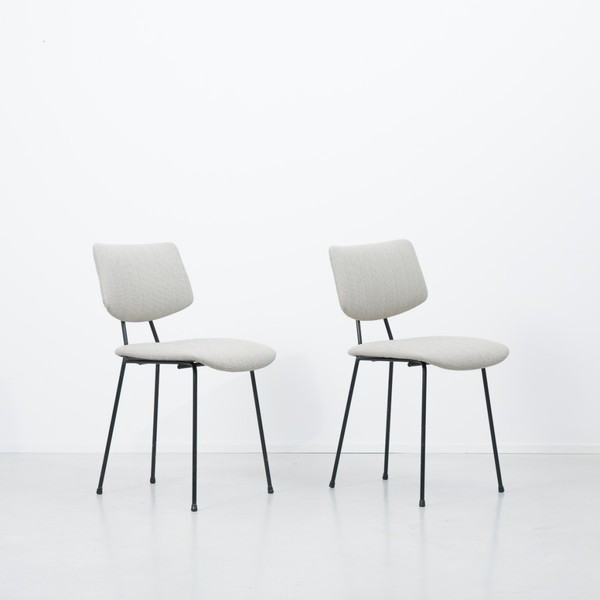 A R Cordemeyer For Gispen 1262 Upholstered Chairs photo 1