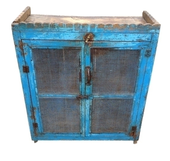 Vintage Kitchen Cupboard From Rajasthan, India