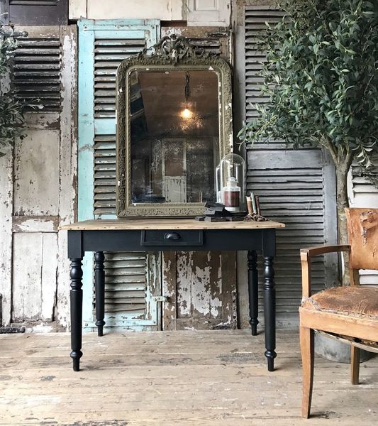 Rustic, Vintage French Table / Desk