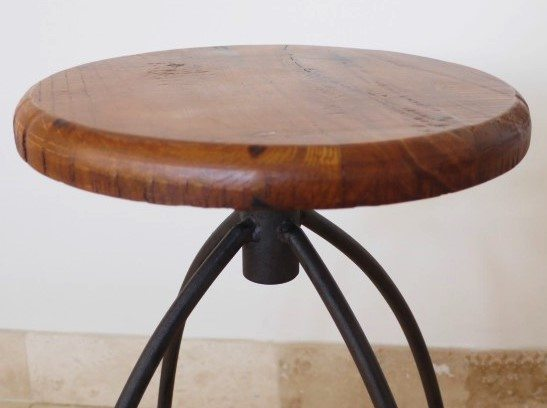 Pair Of Spin Top Stools