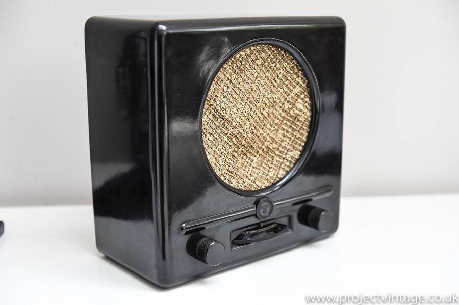 Rare....Vintage Ww2 Deutscher Kleinempfänger 1938 German Propaganda Radio By Braun