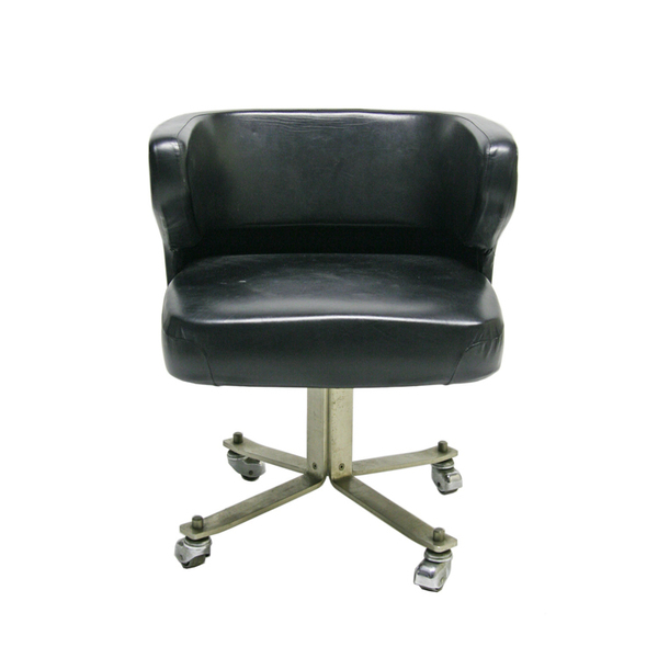 1970s Low Back Desk Chair