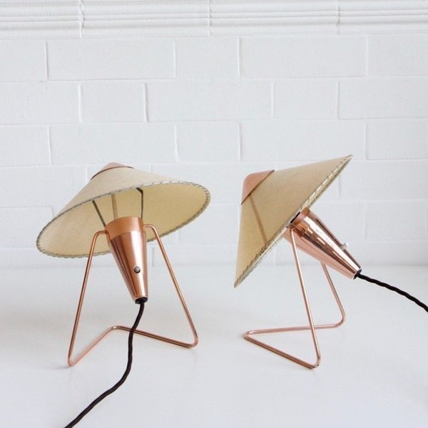 Helena Frantova For Okolo Copper Table Or Wall Lamps photo 1