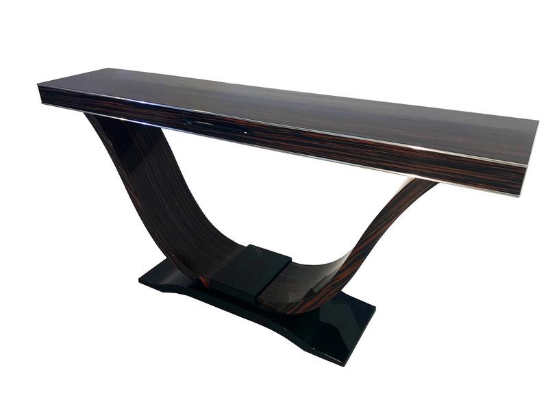 Custom Macassar Console Table