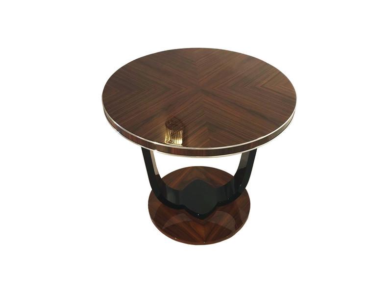 Custom Art Deco Design Side Table